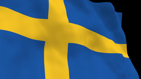 National Flag B19 SWE HD Animation