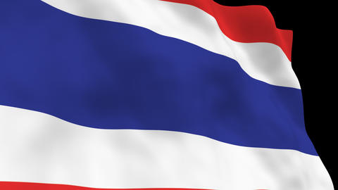 National Flag B35 THA HD Animation