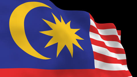 National Flag B41 MAS HD Animation