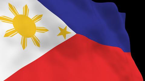 National Flag B45 PHI HD Animation