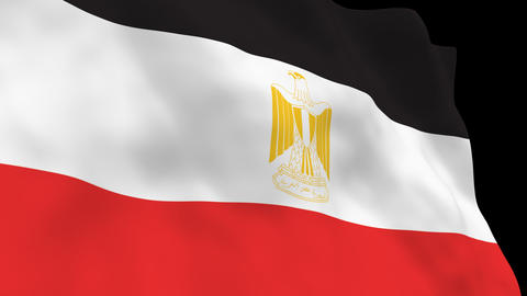 National Flag B49 EGY HD Animation