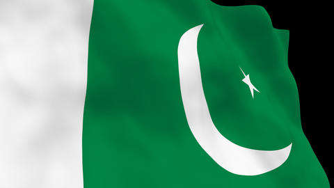 National Flag B53 PAK HD Animation
