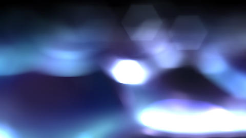 Blue Smoky Light Stock Video Footage