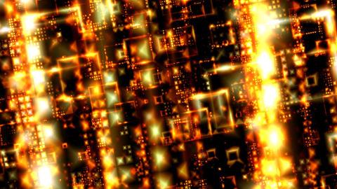 Golden Grid Stock Video Footage