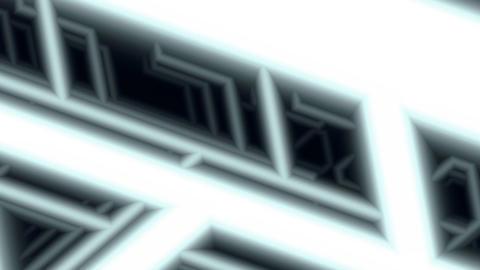 furturistic wireframes pattern Stock Video Footage