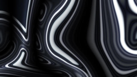 Black Wave Patterns Animation