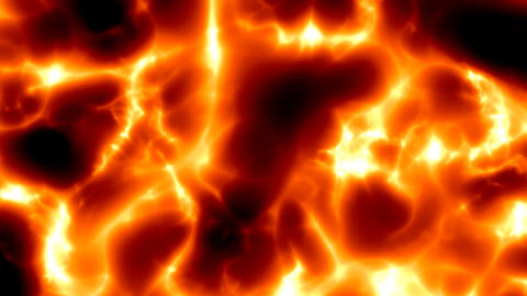 red fiery lava fast Stock Video Footage