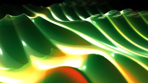 green gentle waves Stock Video Footage