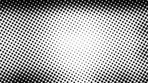 black and white pattern Stock Video Footage