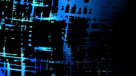 blue ink grid Stock Video Footage