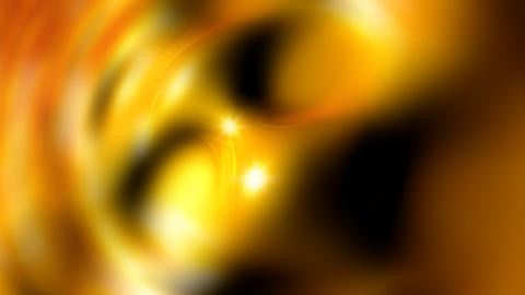 gold molten balls Stock Video Footage