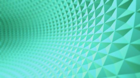 green running tunnel Animation