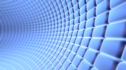 blue tunnel Animation