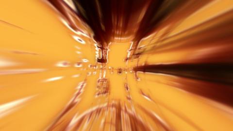 orange abstract lines Animation