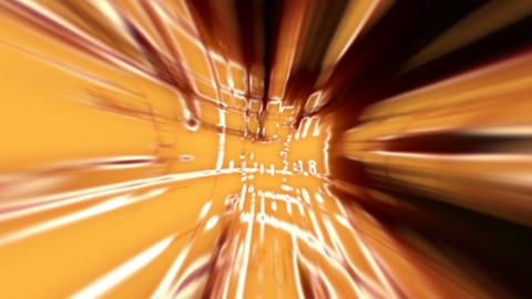 orange abstract lines Stock Video Footage