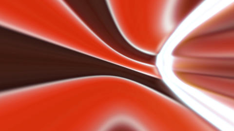 red brown retro curves Stock Video Footage
