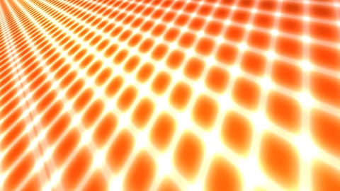 orange rays grid Animation