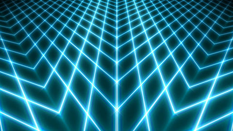 blue pattern lines Stock Video Footage