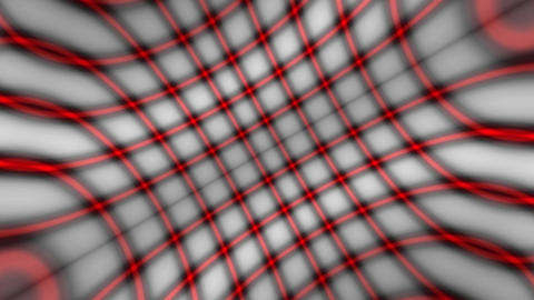 red diagonal grid Animation