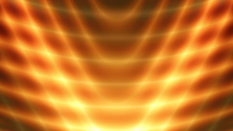 goldern fluid rays Stock Video Footage
