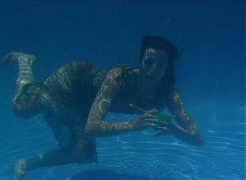 Alina Underwater 1 Footage