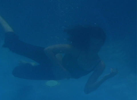 Alina Underwater 9 Stock Video Footage