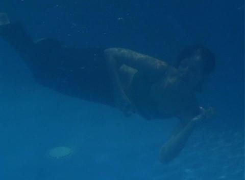 Alina Underwater 9 Stock Video Footage
