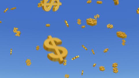 Money Dollar 3 b HD Stock Video Footage