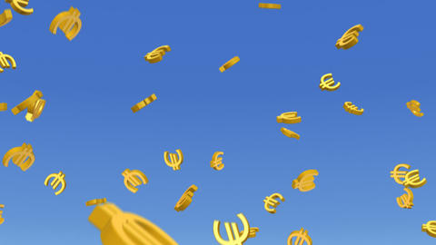 Money Euro 3 b HD Animation