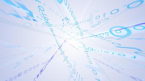 Data stream Atom5 CAe CG動画素材