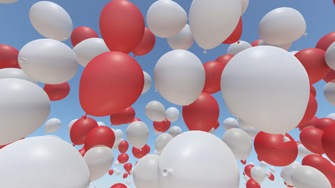 balloon 2 ab HD Stock Video Footage