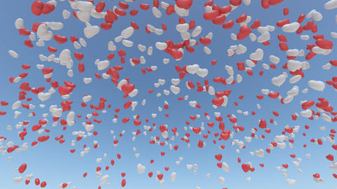 balloon 2 h ab HD Stock Video Footage