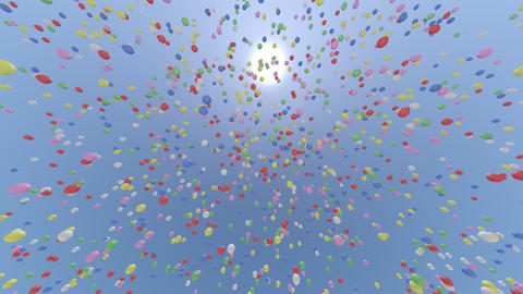 balloon ca HD Stock Video Footage