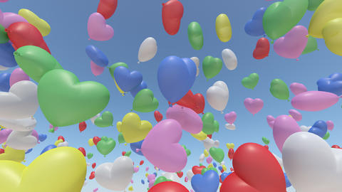 balloon h ab HD Stock Video Footage