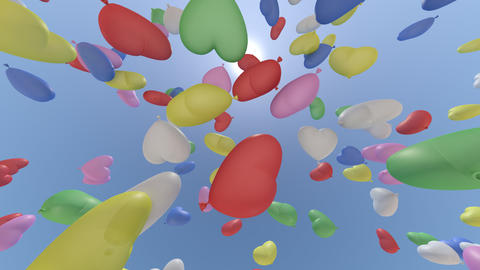 balloon h cb HD Stock Video Footage