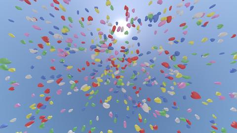 balloon h cb HD Stock Video Footage