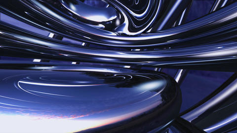 Chrome Metal Tb a HD Stock Video Footage