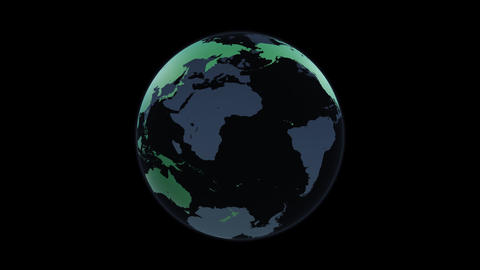 Earth D d A HD, Stock Animation