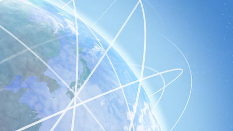 Earth net k A HD Stock Video Footage