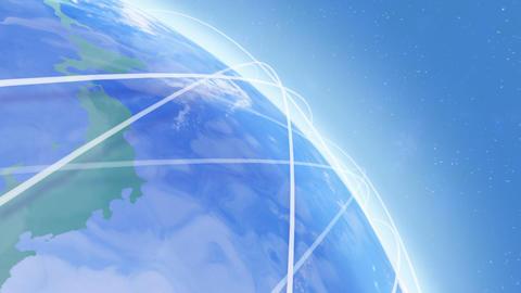 Earth net k C HD Stock Video Footage