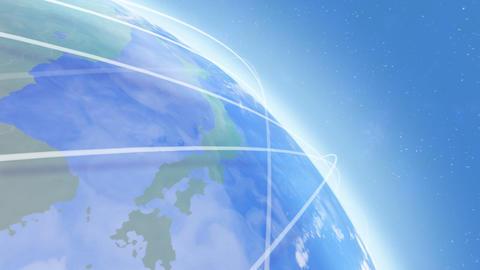 Earth net k C HD Animation