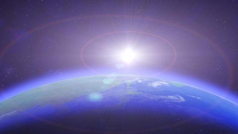 Earth SunR HD Animation