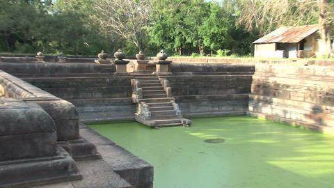 Kuttam Pokunu in Anuradhapura, Sri Lanka Stock Video Footage