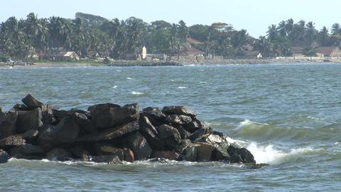 Coast, Negombo, Sri Lanka Footage