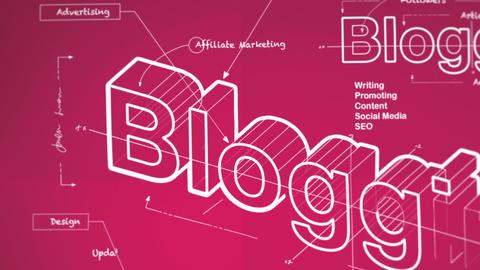 Blogging Animation