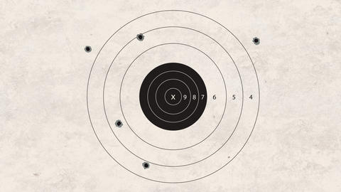 shooting target very bad Animation