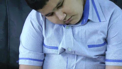 Sad boy. Bullying concept Stock Video Footage