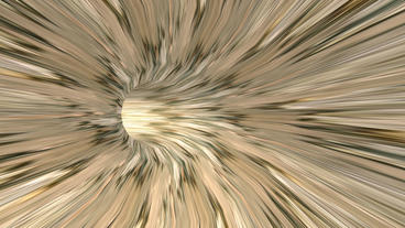 moving in mottled terra mud tunnel hole Stock Video Footage