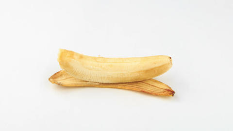 Banana dark. Time Lapse Stock Video Footage