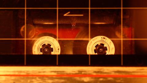 Audio cassette Stock Video Footage